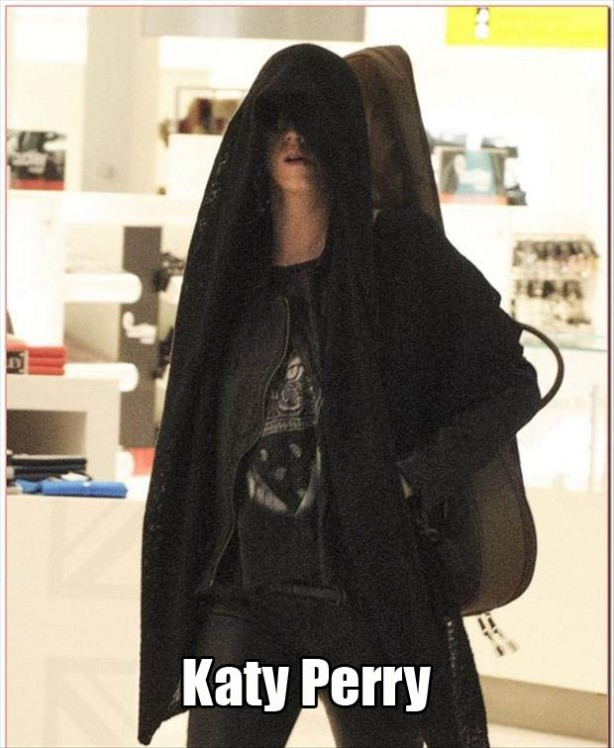 15Katy Perry as a sith lord