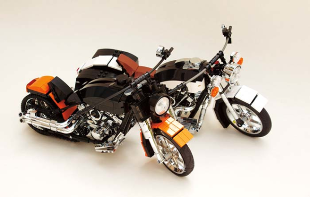 Motorcycle Legos
