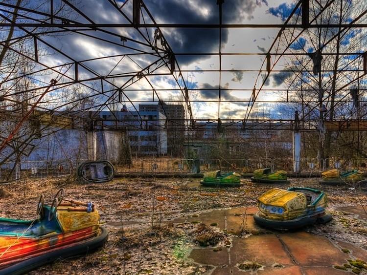 Prypiat Amusement Park Pyrpiat Ukraine