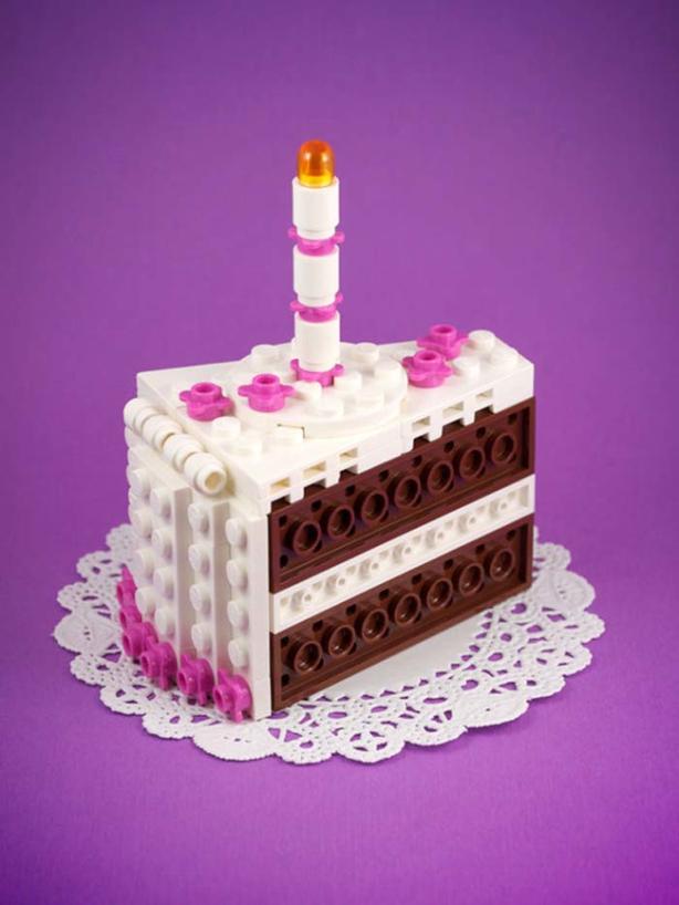Happy Birthday in Lego form.