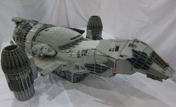 The ship Serenity from Firefly