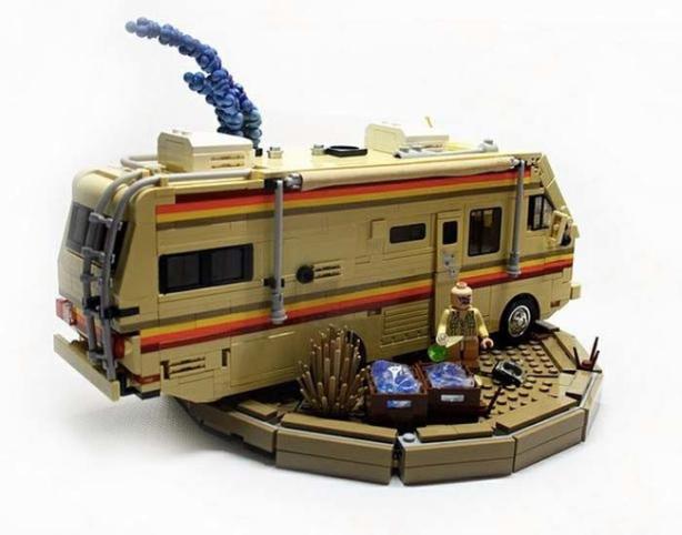 Breaking Bad Lego style