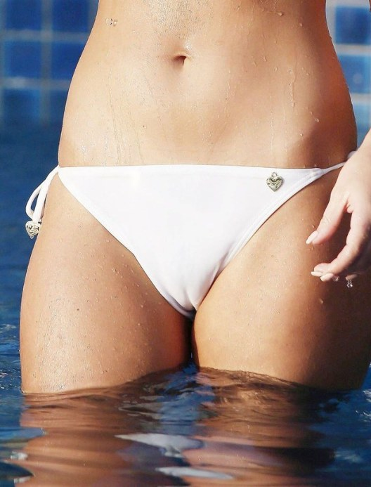 Worrying about camel toes. It is nearly inescapable.