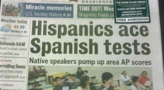 Hispanics-Ace-Spanish-Test-fail