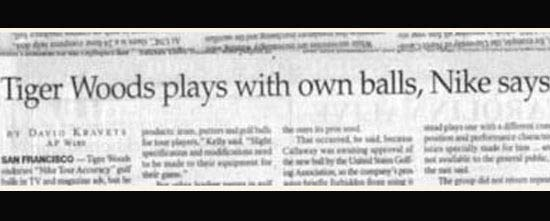 tiger-woods-plays-with-own-balls-newspaper-fails