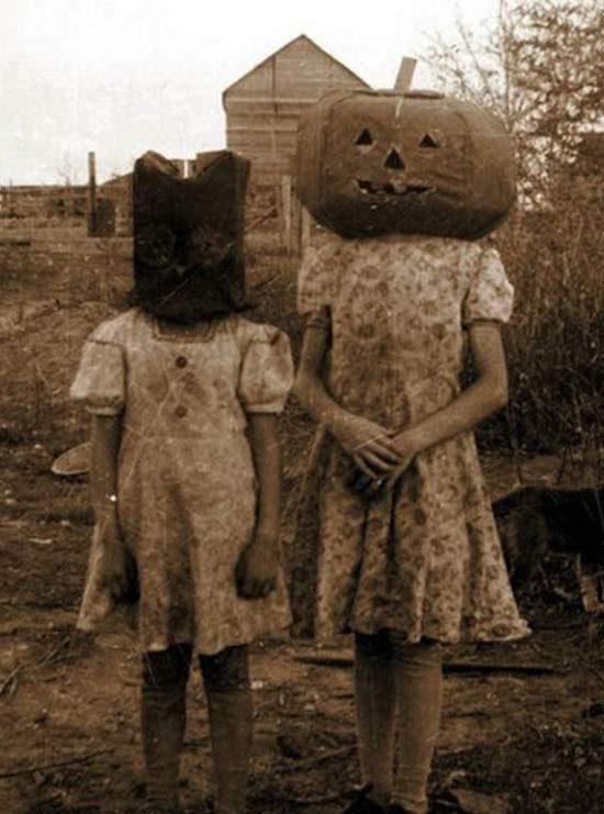vintage-halloween-costumes-pumpkin-head