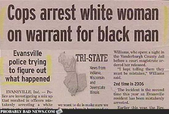 white-woman-black-newspaper-fails